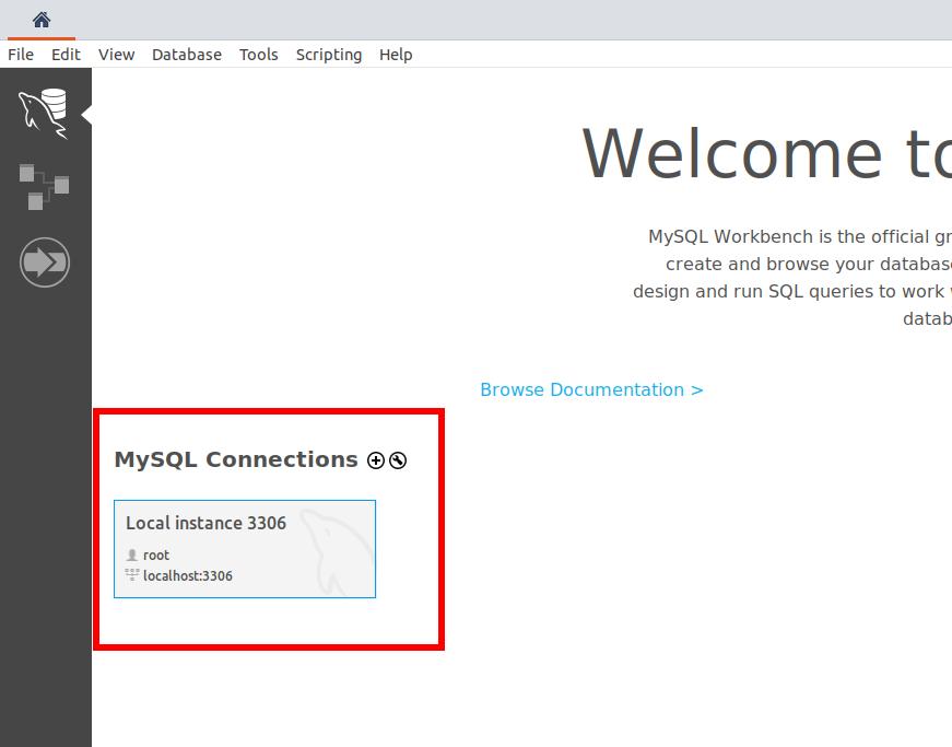 Conexiones MySQL Workbench